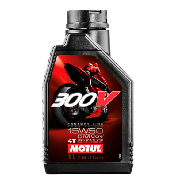 Моторное масло 300 V 4T FL Road Racing SAE 15W50 (1 л)
